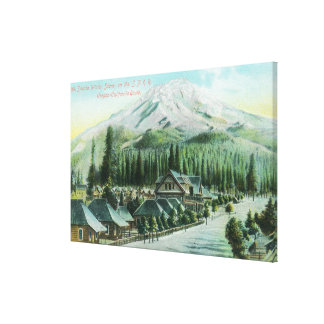 Mountain from Southern Pacific Railroad Canvas Print