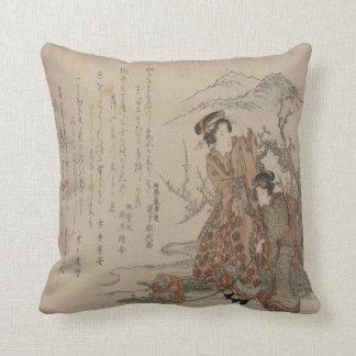 Mountain Geishas Cushion