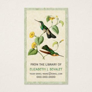 Mountain Gem Hummingbird Personalized Media Cards