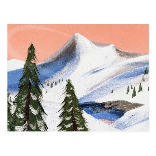 Mountain Getaway Postcard