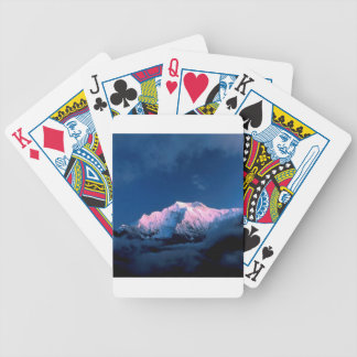 Mountain Ghyaru Purple Head Poker Deck