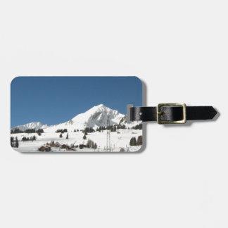 Mountain glory! luggage tag