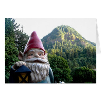 Mountain Gnome Greeting Card