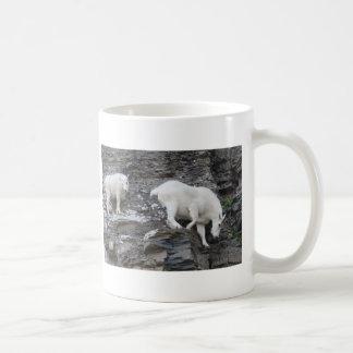 mountain goat basic white mug