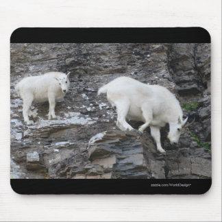 Mountain Goat Mouse Mat
