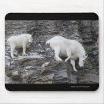 Mountain Goat Mouse Mats