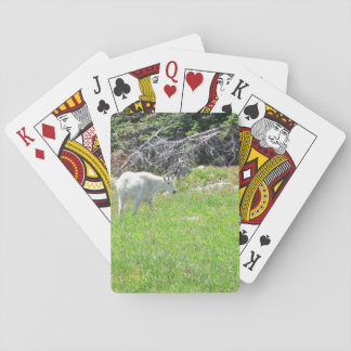 Mountain Goat Playing Cards