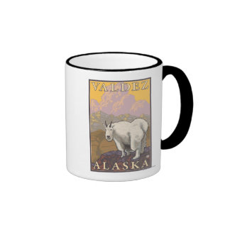 Mountain Goat - Valdez, Alaska Coffee Mug