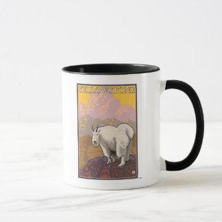 Mountain Goat - Yellowstone National Park Mug