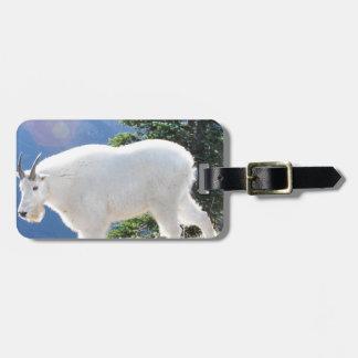 Mountain Goats Luggage Tag