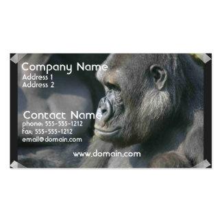 Mountain Gorilla Business Card