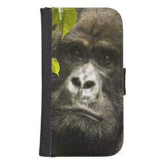 Mountain Gorilla, Gorilla beringei beringei, Samsung S4 Wallet Case