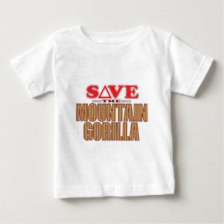 Mountain Gorilla Save Baby T-Shirt