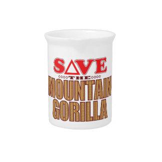 Mountain Gorilla Save Pitcher