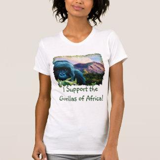 Mountain Gorilla & Volcano Ape Supporter T-Shirt