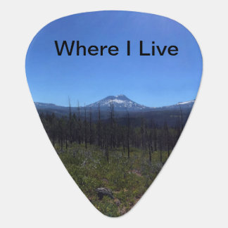 Mountain Guitar Pick