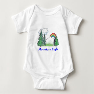 Mountain High Camp Baby Bodysuit
