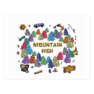 Mountain High Camp Tee Shirt Design '07 Postcard