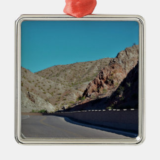 Mountain Highway in Arizona Christmas Ornament