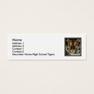 Mountain Home Tigers Contact Card