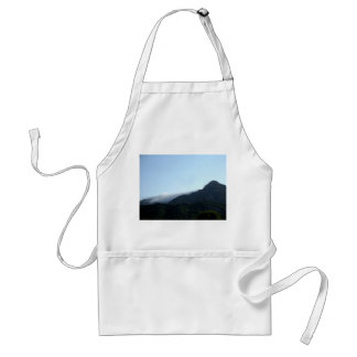 Mountain In The Distance Adult Apron