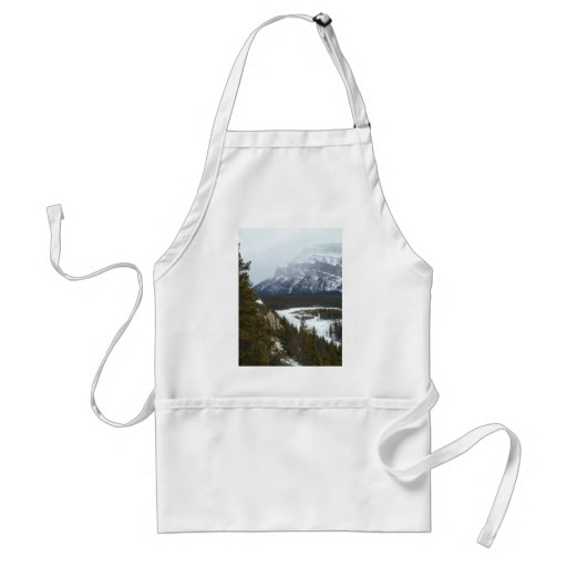 Mountain in the Distance at Banff National Park Aprons
