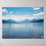 Mountain Lake (colour) Poster