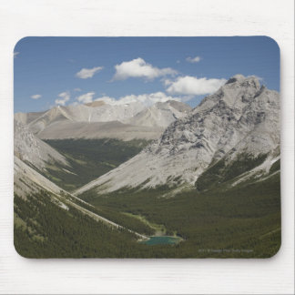 Mountain Lake In A Valley With Blue Sky Mouse Mat