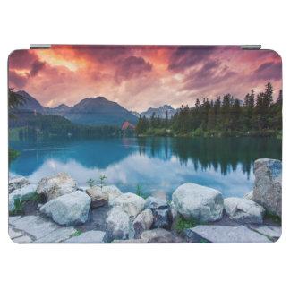 Mountain lake in National Park High Tatra 2 iPad Air Cover