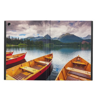 Mountain lake in National Park High Tatra iPad Air Case