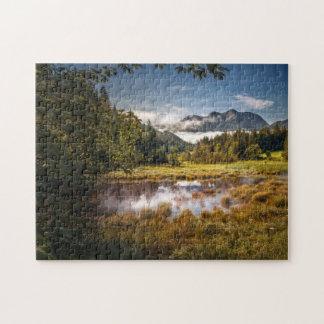 Mountain lake jigsaw puzzle