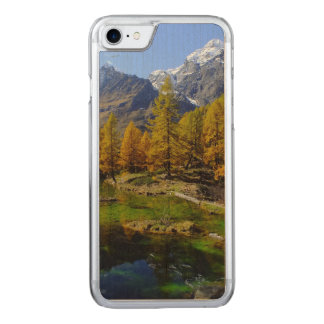 Mountain Lake Woods Scene Carved iPhone 7 Case