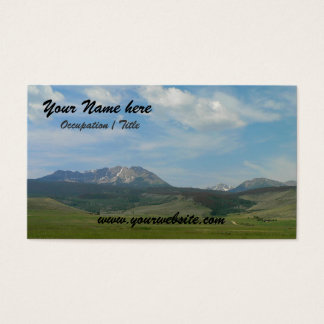 Mountain Landscape Business Card