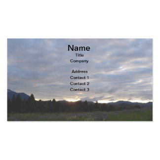 Mountain Landscape Business Cards
