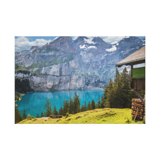 Mountain landscape canvas print