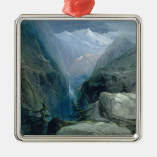Mountain Landscape Christmas Ornament