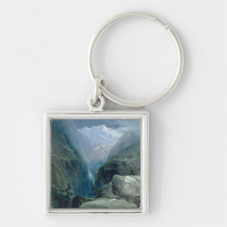 Mountain Landscape Key Ring