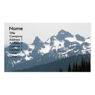 Mountain Landscape Photo Business Card