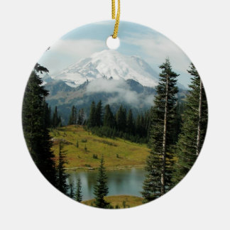 Mountain Landscape Photo Christmas Ornament