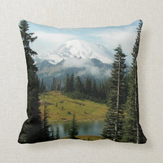 Mountain Landscape Photo Throw Pillow