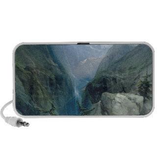Mountain Landscape Travelling Speakers