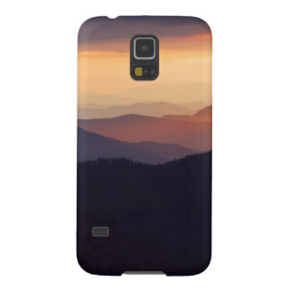 Mountain landscape with a fantastic sunset galaxy s5 case