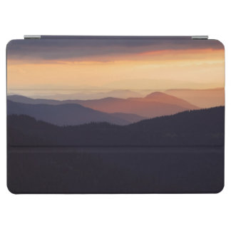 Mountain landscape with a fantastic sunset iPad air cover