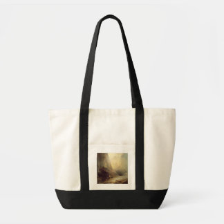 Mountain Landscape with Banditti, c.1780 (oil on c Tote Bag
