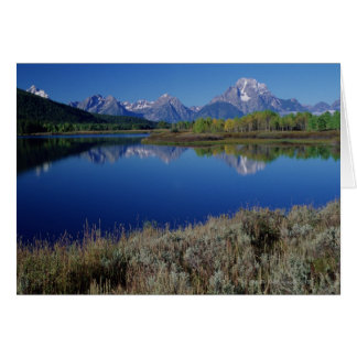 Mountain Landscape - Wyoming Card