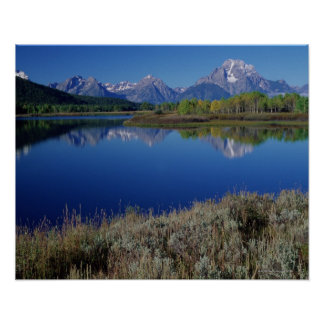 Mountain Landscape - Wyoming Poster
