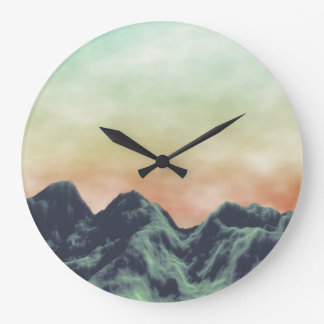 Mountain Large Clock