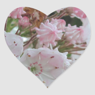 Mountain Laurel Products Heart Sticker