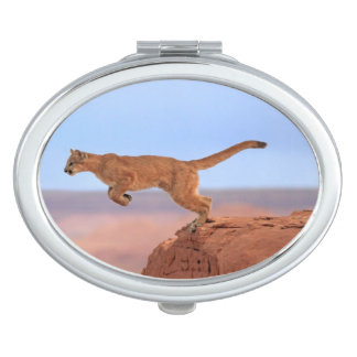 Mountain Lion Compact Mirror