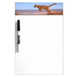 Mountain Lion Dry Erase Board